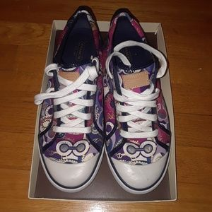 SOLD SOLD SOLD  9.5 coach Barrett sneakers